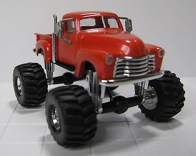 Custom Chevy Monster Truck, 4X4, Busch  / Roco Minitanks, HO Scale