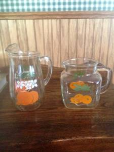 Vintage Juice Pitchers (Missoula, MT)