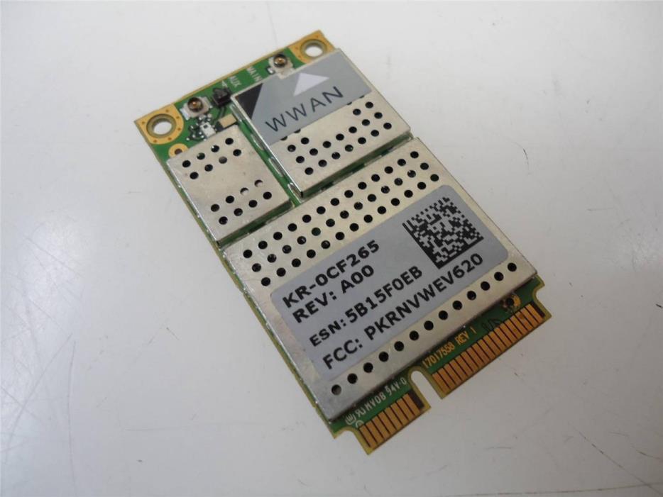 Dell CF265 Latitude D620 D630 WWAN Wireless 5700 EVDO Mobile Broadband Card