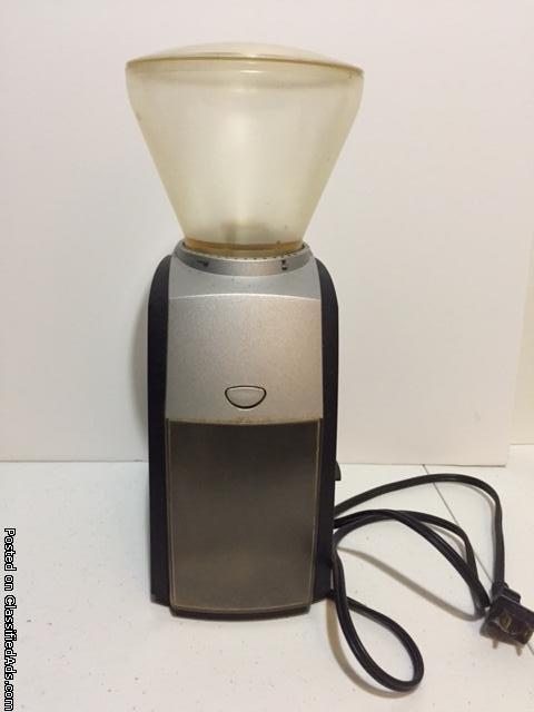 Coffee Grinder -- Solis Maestro