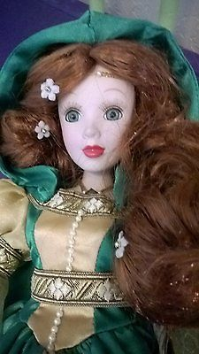 IRISH PORCELIAN COLLECTOR DOLL DANDEE LIMITED EDITION  16