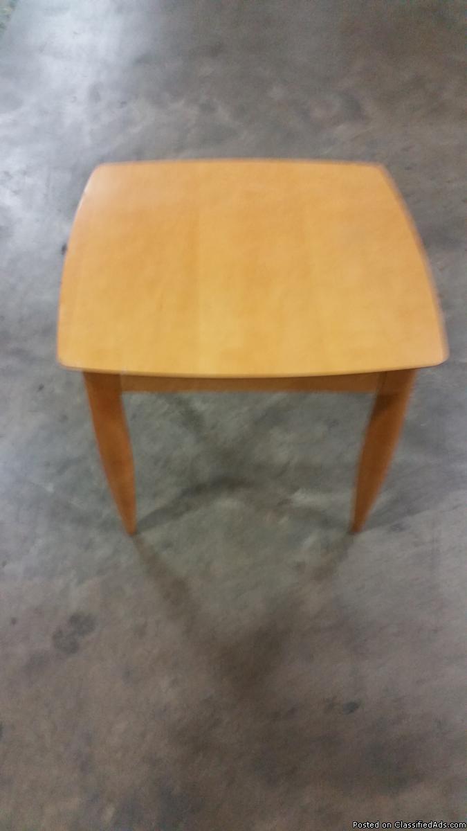 Maple Veneer End Table by Kimball International