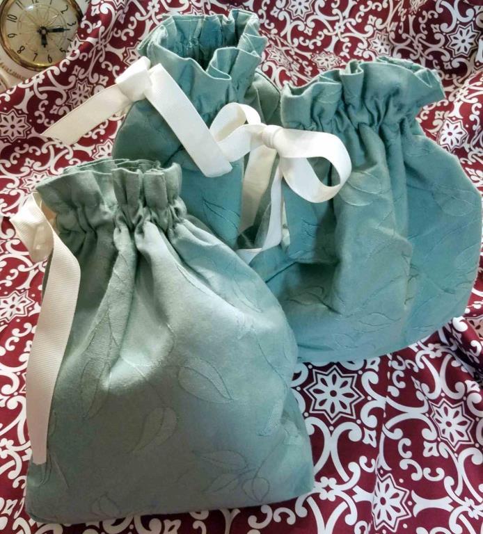 Organizer  Drawstring bags  Fabric Jewelry Storage