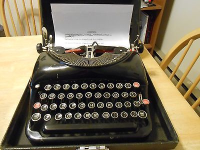 Vintage Remington 5 Typewriter