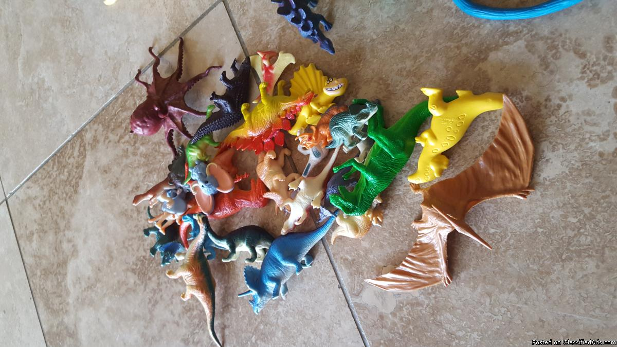 Dinosaur collection!