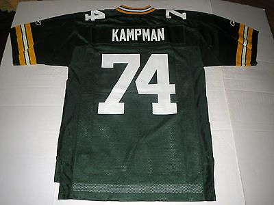 Vtg Aaron Kampman Green Bay Packers NFL Jersey Medium **MINT**