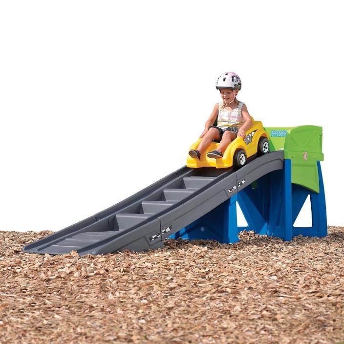 Step2 Extreme Kids Toys Coaster Ride-On w/Safety Rails & Non-Slip Step Ramp Ride