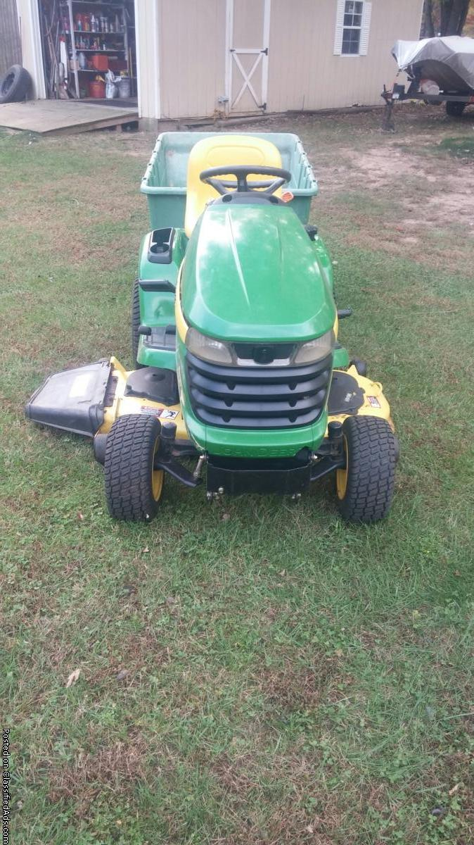 John Deere Tractor Lift Problems : John deere lawn mower for sale classifieds