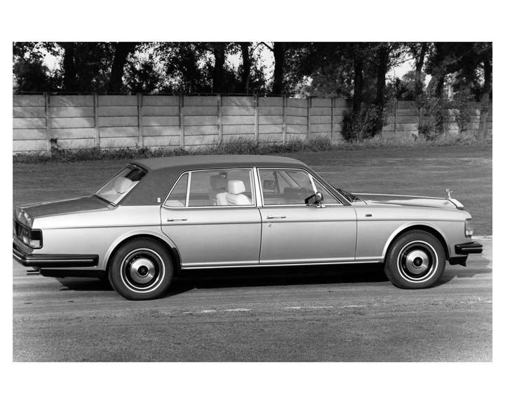 1985 Rolls Royce Silver Spur ORIGINAL Factory Photo ouc0950
