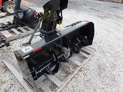 NEW BERCOMAC PRO SERIES 54'' SNOW BLOWER 3 POINT HITCH