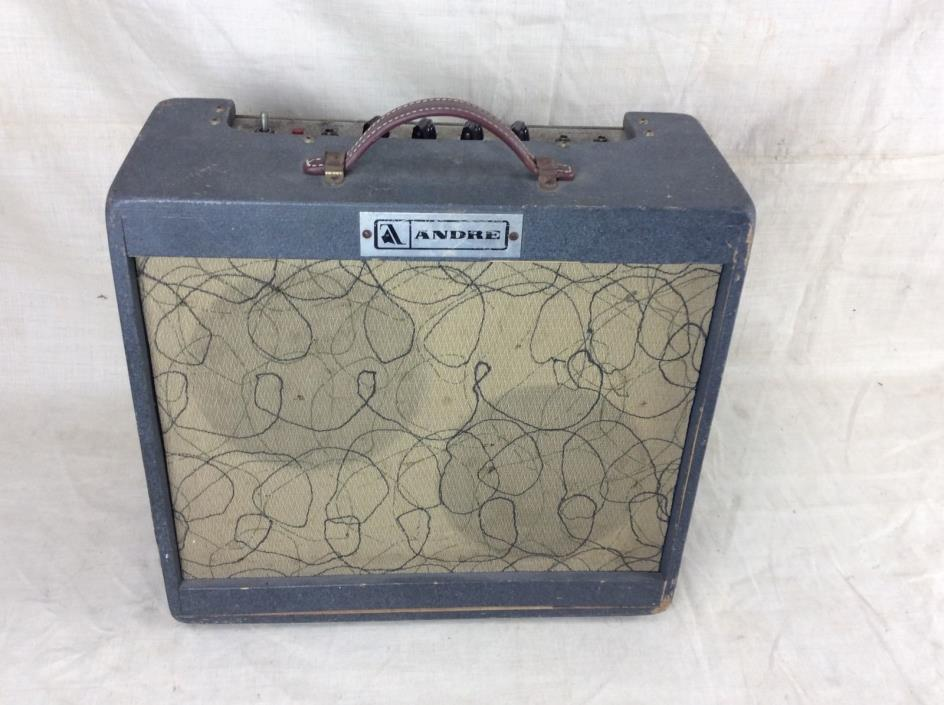 Vintage Andre SS-1 Solid State Electric Guitar Amplifier Circa 1970's Ampeg