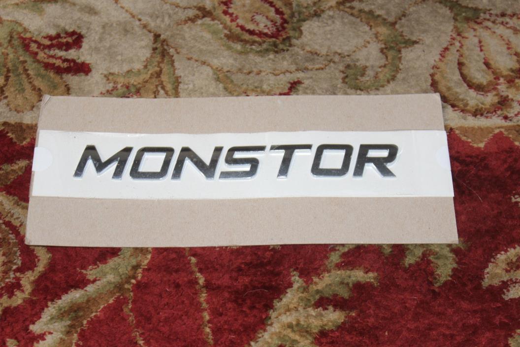 car monster sign