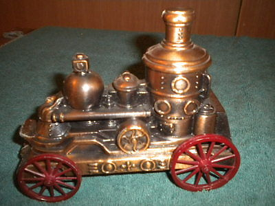Banthrico Inc Metal Coin Bank Steam Fire Engine
