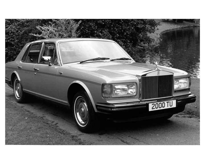 1986 Rolls Royce Silver Spirit ORIGINAL Factory Photo ouc0929
