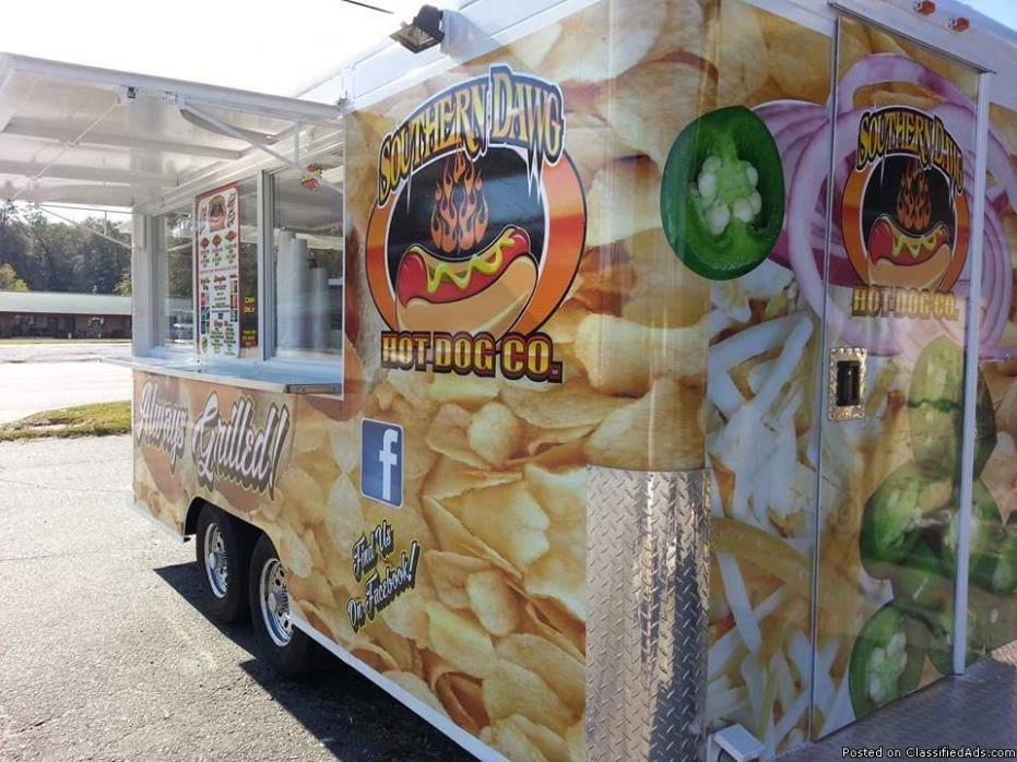 Mobile concession/trailer biz.