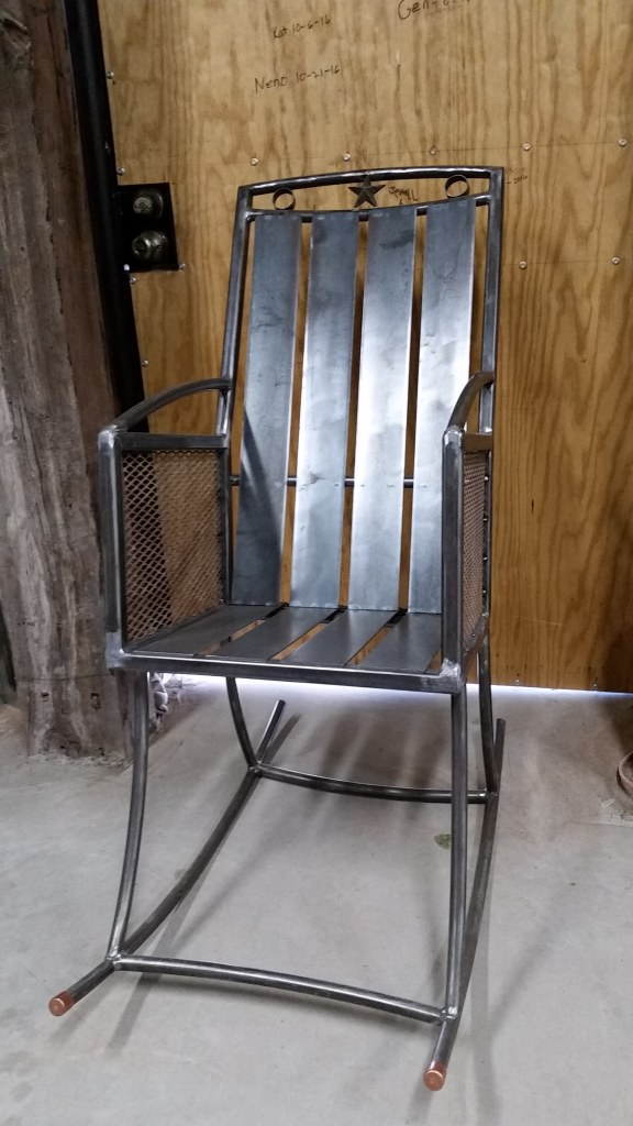 Rocking Chair, hand made-NEW