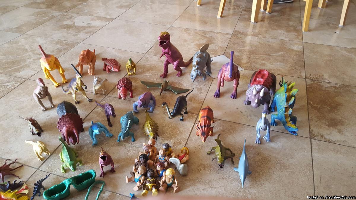 Dinosaur collection!