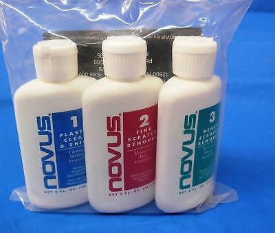 HONDA XR600R XL500R NOVUS PLASTIC RESTORATION KIT NEW CLEAN SHINE FENDERS