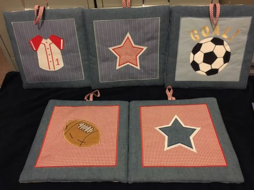 Boys  Decorative Sports Wall Hangings