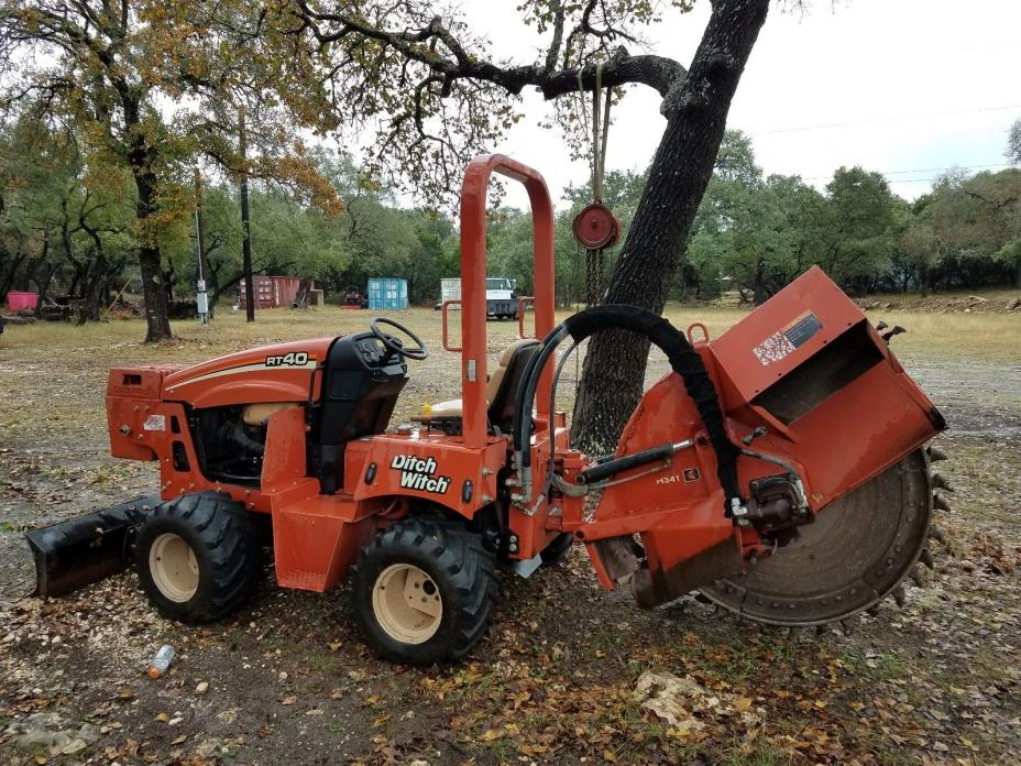 Trencher/Rock Saw  ditchwich RT40  diesel 2007 578hours