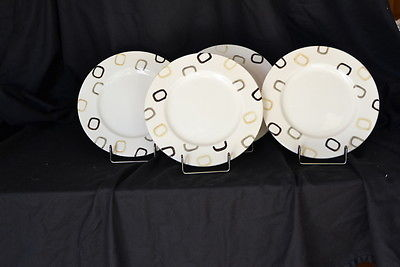 Crate & Barrel China Dinner Plates