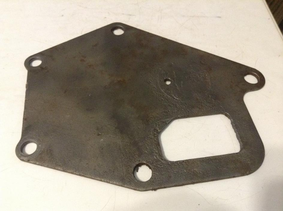 375744R1 - A Used Water Pump Support Plate For A Farmall 140, 404, 424 Tractors