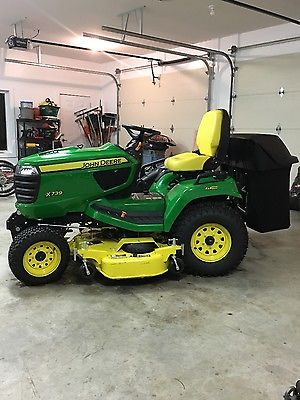john deere X 739 garden tractor. 4x4 4wheel steer