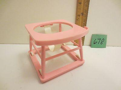 Vintage Galoob Pink Walker for Bouncin' Babies