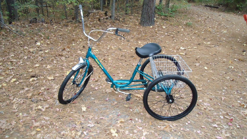 3 wheel ladies bike