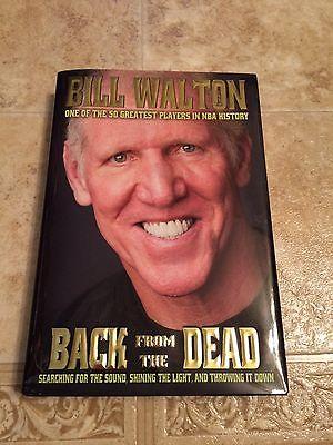 Bill Walton Signed Back from the Dead auto Book NBA HOF COA