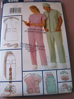 BUTTERICK Professional Uniforms Sewing Pattern 4946 1997 Unused Orig. $10.95 US