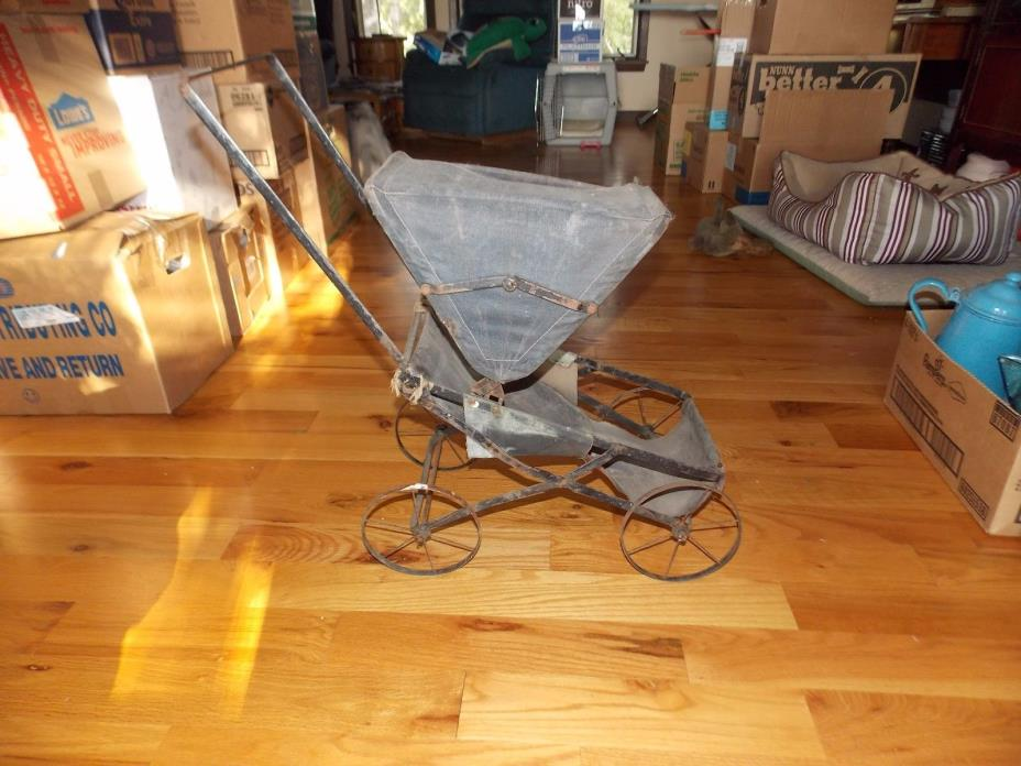 Antique Doll Buggy Amish Style