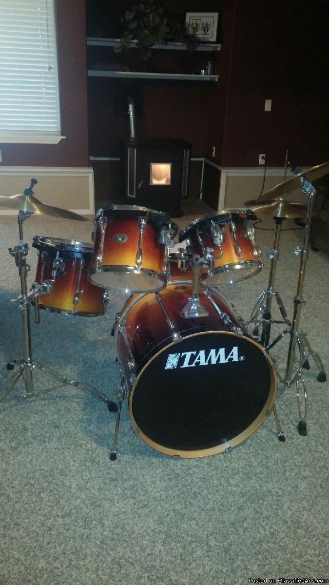 Tama Rockstar drum set for sale