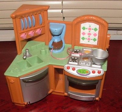 Fisher Price Loving Family Dream Dollhouse All=in=1 Kitchen,Stove, Sink, Phone +