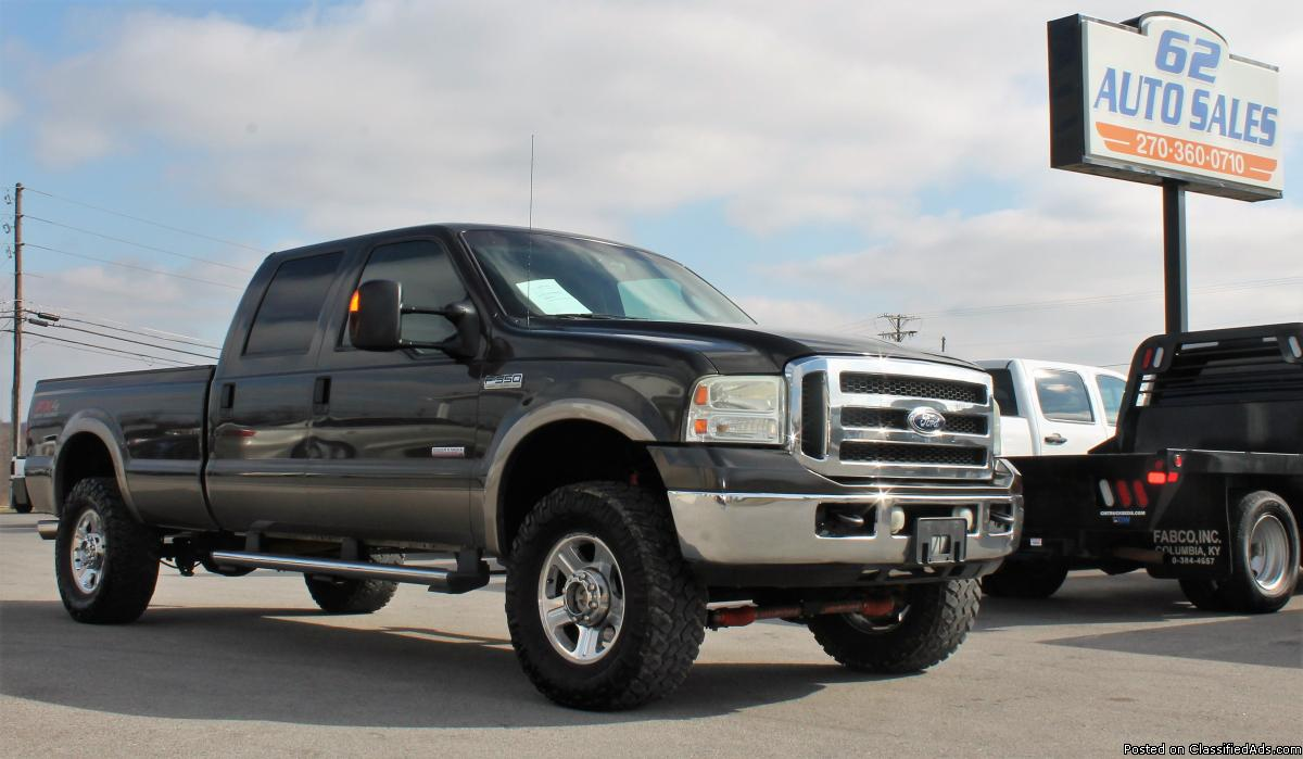 *DELETED* 2005 Ford F-350 Lariat Crew Cab FX4 **CLEAN SOUTHERN TRUCK**