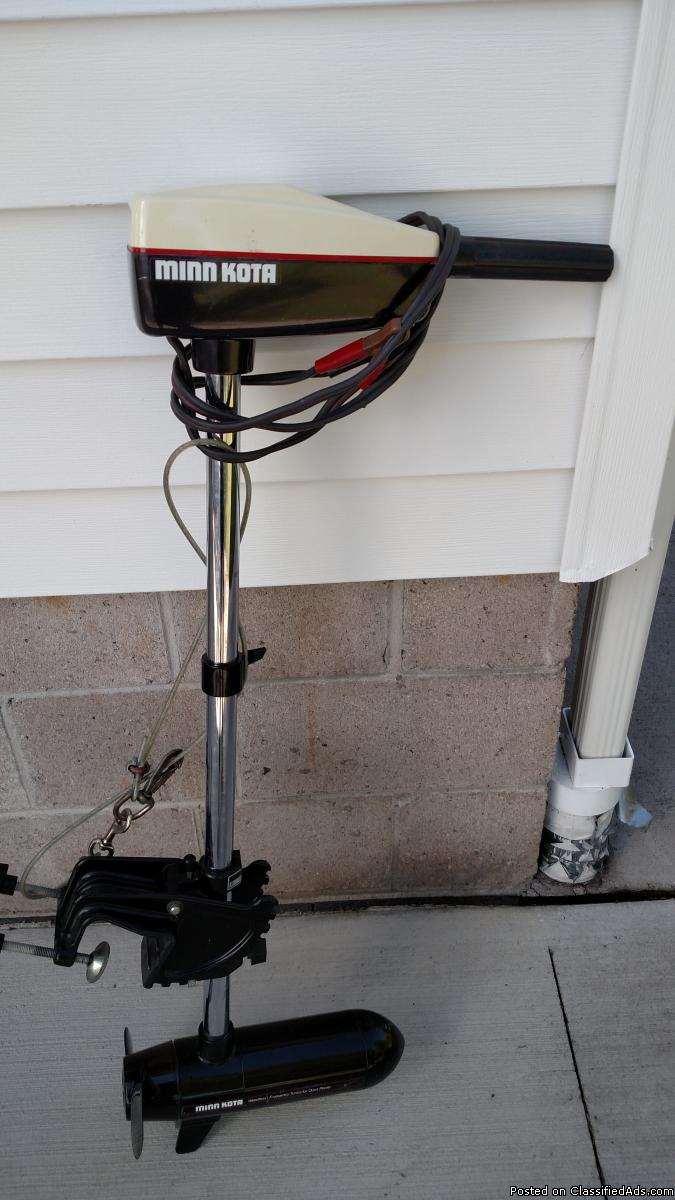 electric trolling motor for sale classifieds