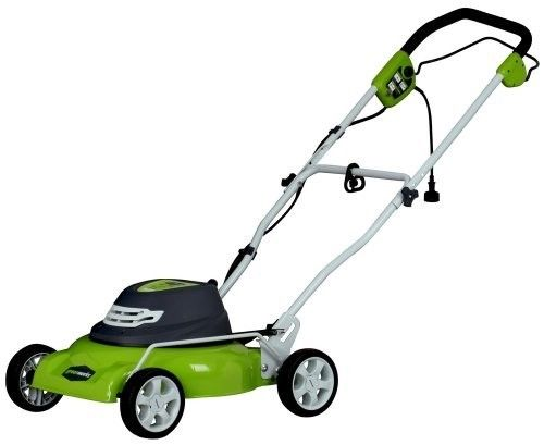 Electric Corded Lawn Mower 18 Inch Cutting Deck 12 Amp ZERO Carbon Footprint New