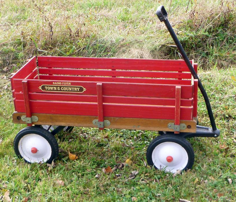 Radio Flyer Town And Country Wagon For Sale Classifieds