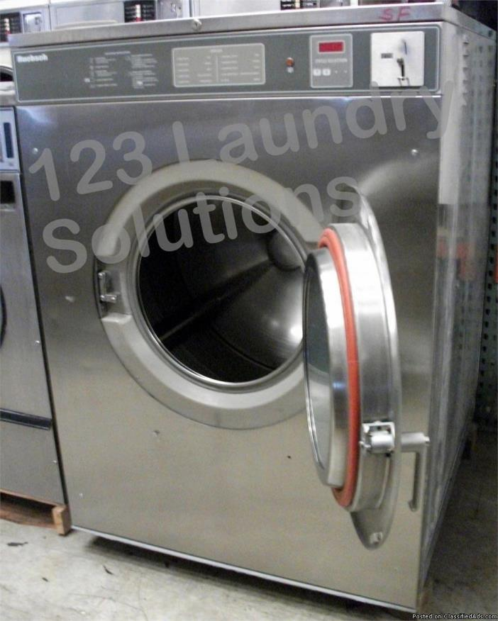Huebsch HC80VXVQU60001 Front Load Washer USED