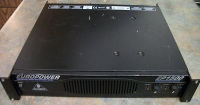 Behringer EuroPower EP1500 - 2 x 700W Power Amplifier - Professionally Serviced