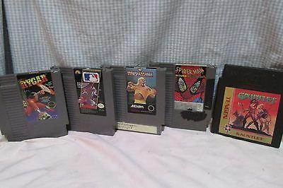 Set Of 5   NES Nintendo Games