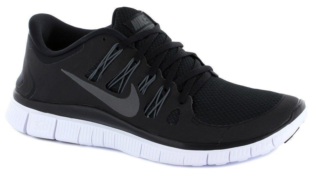 Nike Free 5.0 + Men's SZ 8.5  Running Training Shoes Sneakers Black 579959 002
