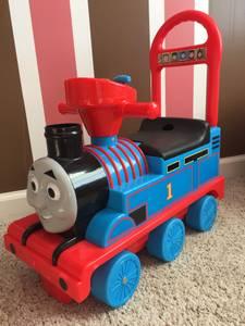 Thomas train ride on toy (Burlison)