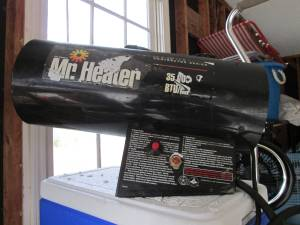 Mr. Heater forced air heater (Elgin)