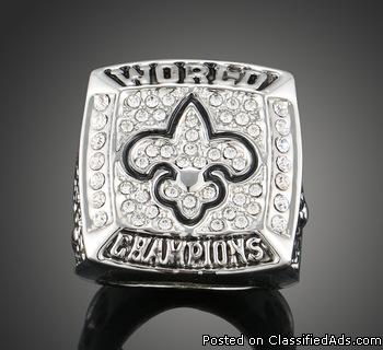 New Orleans Saints Replica Super Bowl Ring