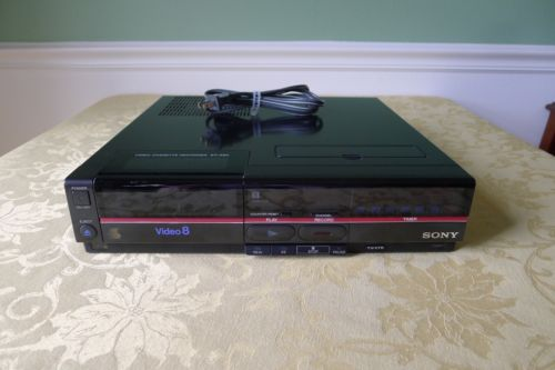 Vintage Sony EV-A80 8mm Video 8 Player / Recorder - Great Shape!!
