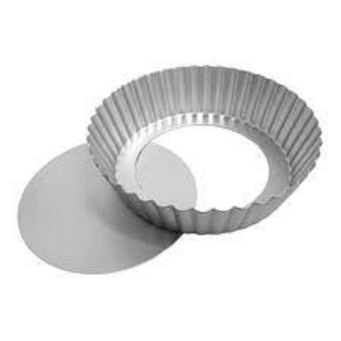 Round Fluted Tart Pan 6