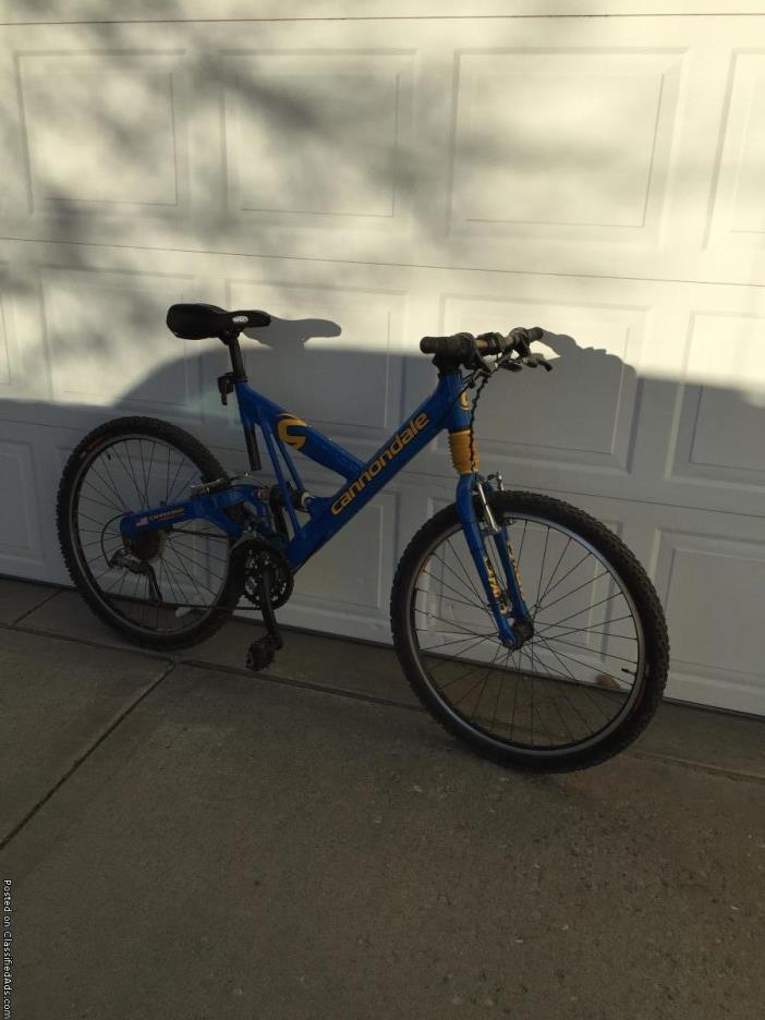 19.5 Mtn Bike, Cannondale superV500