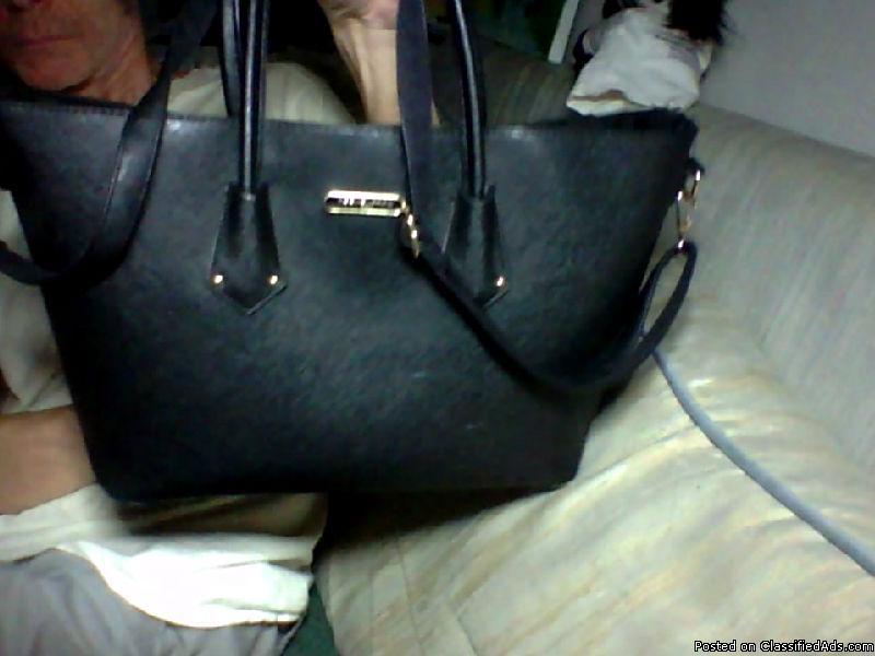women's faux leather large David Jones  Handbag