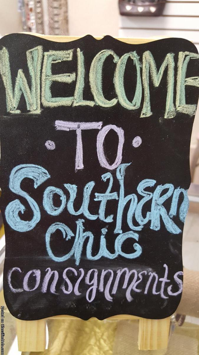 Southern Chic Consignments Now Open